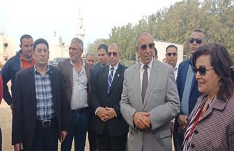 وزير الزراعة ومحافظ البحر الأحمر يتفقدان مشروع المجزر الآلي الجديد بالغردقة | صور