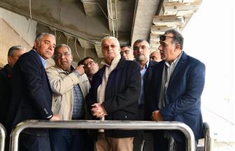"""رئيس """"المقاولون العرب"""" يتفقد أعمال تطوير ستاد القاهرة استعدادا لاستقبال بطولة إفريقيا"""