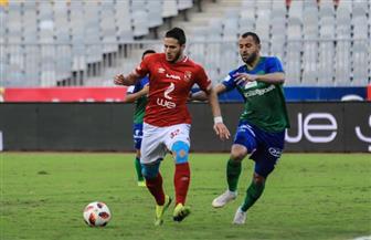 رمضان صبحي يحرز الهدف الثالث للأهلي في الدقيقة 77