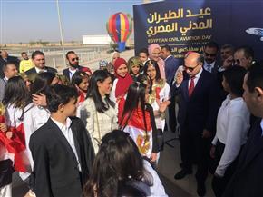 """انطلاق أولى الرحلات من """"سفنكس الدولي"""" بحضور وزيري الطيران والسياحة  صور"""