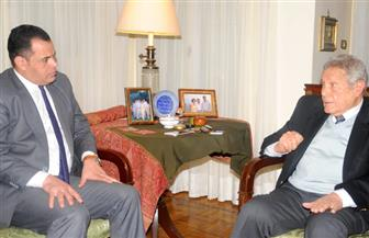 السفير عبد الرءوف الريدي يتحدث عن الدبلوماسية والسياسة والثقافة على أخبار مصر.. الخميس | صور
