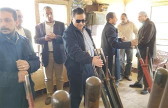 رئيس هيئة السكة الحديد يتفقد مشروعات التطوير على خط القاهرة قليوب منوف  صور