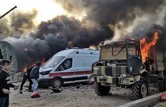 متظاهرون يحرقون معسكرا تركيا في كردستان العراق |صور