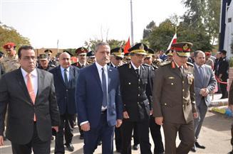 محافظ الإسماعيلية وقائد الجيش الثاني الميداني يشهدان الاحتفال بعيد الشرطة