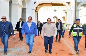 تفاصيل جولة الرئيس السيسي بمدينة الفنون والثقافة في العاصمة الإدارية الجديدة|صور