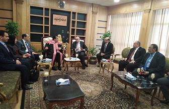 طب المنصورة تحتفل بتخرج الدفعة السابعة للوافدين بحضور وزير التعليم العالي