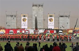 افتتاح معرض وزارة الداخلية بمشاركة كافة قطاعاتها بمناسبة عيد الشرطة