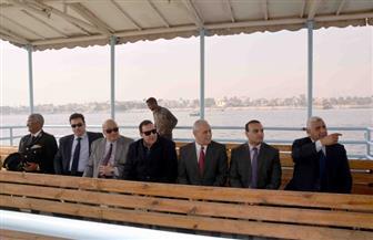 بدء تشغيل العبارة النهرية الجديدة بمرسى معديات الأهالي بمدينة الأقصر | صور