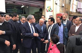 وزير التموين يتفقد المجمعات الاستهلاكية في بورسعيد.. ويؤكد توافر السلع بأسعار مناسبة | صور