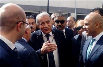 وزير التموين يفتتح مجمع الأسماك الجديد في بورسعيد | صور