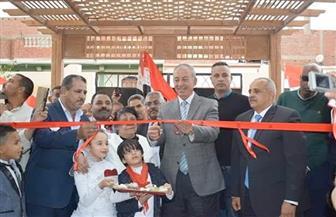 محافظ البحر الأحمر يفتتح مدرسة عمر بن الخطاب الابتدائية المشتركة بسفاجا | صور