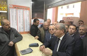 وزير التموين يفتتح بدالا تموينيا في الحي الإماراتي ببورسعيد | صور
