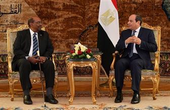 تفاصيل استقبال الرئيس السيسي نظيره السوداني | صور