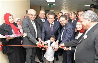 افتتاح ٣ وحدات بمستشفى أطفال المنصورة بحضور عبد الغفار والفنانة سيمون |صور