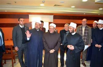 تعرف على سبب الاجتماع الخاص لوزير الأوقاف والمفتي والدكتور أسامة الأزهري  صور
