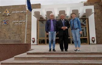 سفير بيلا روسيا يزور السد العالى ورمز الصداقة بأسوان صور