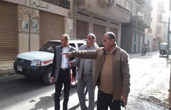 رئيس مدينة سمنود يتابع أعمال الرصف ومشروعات الصرف الصحي| صور