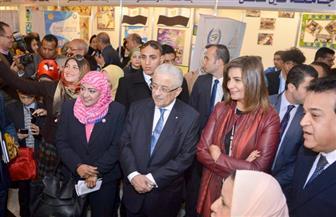 وزيرة الهجرة تشيد بمشاركة علماء مصر في الخارج ببرنامج جامعة الطفل | صور