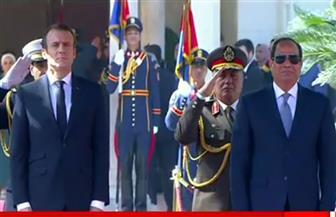 """""""الملفات الإقليمية ومكافحة الإرهاب والهجرة غير الشرعية"""" تتصدر القمة المصرية الفرنسية"""