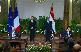 وزيرة الاستثمار: وقعنا 40 اتفاقية بقيمة 1.6 مليار يورو خلال زيارة الرئيس الفرنسي لمصر