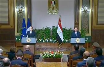 بث مباشر.. مؤتمر صحفي للرئيسين السيسي وماكرون في قصر الاتحادية