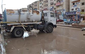 أمطار غزيرة على مدن وقرى كفرالشيخ تغرق الشوارع والطرق وتقطع الكهرباء وتوقف الصيد | صور