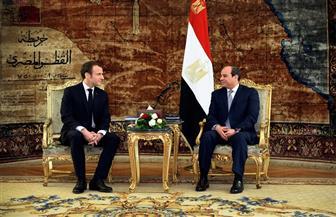 الرئيس السيسي يؤكد أهمية التبادل التجاري والاستثمار في تعزيز العلاقة الإستراتيجية بين مصر وفرنسا