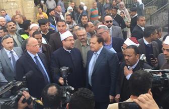 أبو العينين: تطوير 200 مسجد وإنشاء مظلات لمساجد آل البيت مشابهة للمسجد النبوي