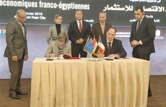 وزير النقل يشهد اتفاقية ابتدائية لتشغيل الخط الثالث لمترو الأنفاق مع شركة فرنسية | صور