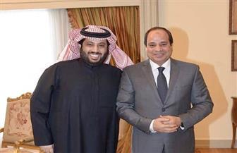 تركي آل الشيخ: مصر في عهد الرئيس السيسي أمن واستقرار وازدهار