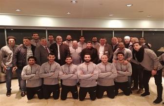 وصول بعثة منتخب مصر لكرة اليد برفقة وزير الرياضة بعد كأس العالم