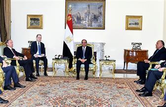 الرئيس السيسي يشيد بالجهود الروسية الجادة لتحقيق التنمية الشاملة بمصر