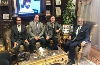 سفير سلطنة عمان يستقبل الفنان هاني شاكر | صور