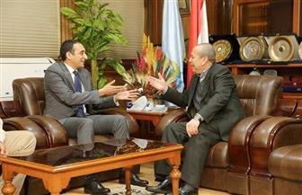 محافظ كفر الشيخ يناقش سبل التعاون مع شركة عالمية للأنظمة