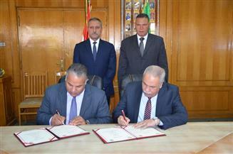 توقيع بروتوكول التعاون بين مديريتي التربية والتعليم والقوى العاملة بالإسماعيلية -