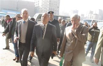 محافظة القاهرة تتابع أعمال إعادة تنظيم ميدان المرج بالتزامن مع اقتراب افتتاح محطة المترو | صور