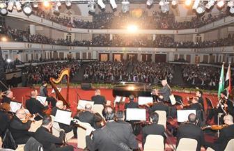 عمر خيرت يتألق بحفله الموسيقى الثاني في جامعة القاهرة| صور