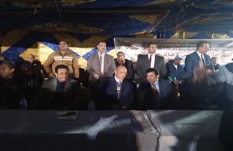 وزير الشباب ومحافظ القاهرة يشهدان مباراة كرة القدم الودية بالأسمرات   صور