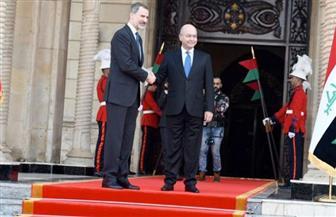 العاهل الإسباني يؤكد استعداد بلاده للمساهمة في إعادة إعمار العراق