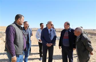 الهجان يتفقد إنشاءات محطات محولات كهرباء قنا ونجع حمادي| صور