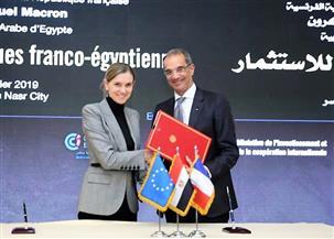 توقيع 4 اتفاقيات تعاون بين مصر وفرنسا في مجال الاتصالات وتكنولوجيا المعلومات