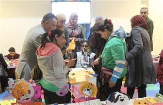 جناح الأزهر بمعرض الكتاب ينظم ورش عمل وفقرات مسرحية لذوي الاحتياجات الخاصة| صور