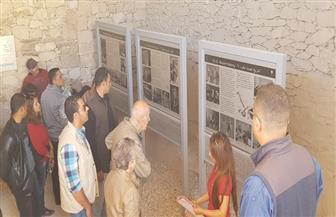 الرئيس الفرنسي الأسبق فاليري جيسكار يستكمل زيارته لمعالم الأقصر الأثرية   صور