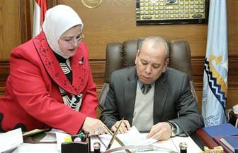 محافظ كفر الشيخ يعتمد نتيجة الفصل الدراسي الأول للشهادة الإعدادية بنسبة نجاح 85.76%