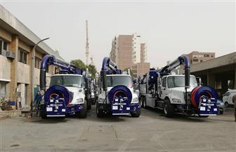 «المرور» يرسل سيارات شفط المياه المتجمعة أعلى الدائري وعدة طرق رئيسية