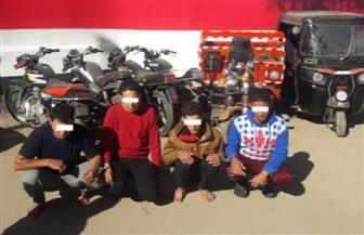 ضبط تشكيل عصابي تخصص في سرقة الدراجات النارية بالمنوفية