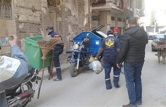 """حي جمرك بالإسكندرية يطبق نظام """"الصفارة"""" في تجميع القمامة"""