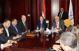 """وزيرة البيئة في ندوة بـ""""أ.ش.أ"""": الرئيس السيسي كلف أجهزة الدولة بالعمل على عودة مصر لدورها الريادي بالقارة"""