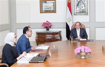 الرئيس يوجه بسرعة الانتهاء من الاستعدادات لبدء المشروع القومي للتأمين الصحي الشامل بمحافظة بورسعيد