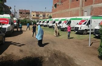 قافلة طبية بمستشفى الأقصر العام لمناظرة حالات اللوز للأطفال
